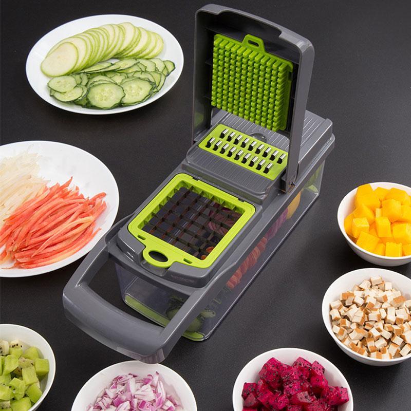Spiral Vegetable Slicer Carrot Grater Cutter Fruit Peeler Salad Maker Tool#^