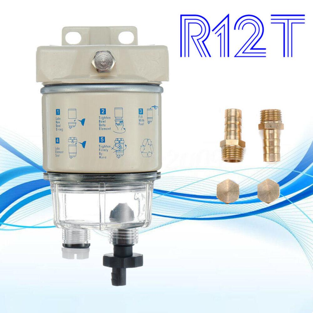 Marine Spin-on Fuel Oil Filter Water Separator Accessories For Racor Speedboats