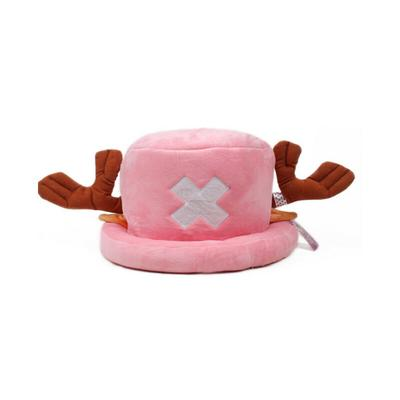One Piece Tony Chopper Cap Cosplay Plush Winter Hat X-mas Creative Gift Light