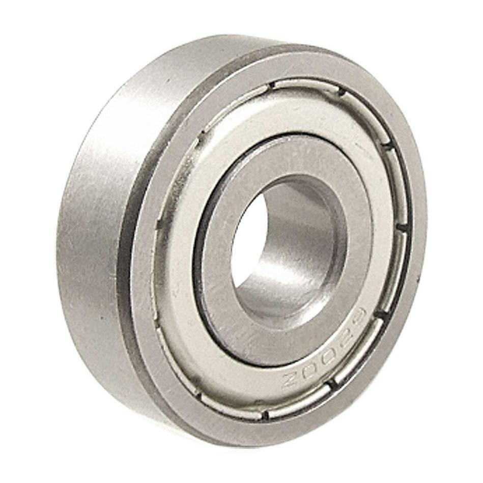 10 x 606 ZZ 6x17x6 mm Metal Miniature Deep Groove Shielded Ball Bearings Set