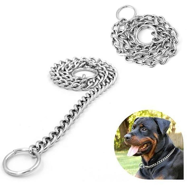 7aecbff4e68c Perro de animal doméstico estrangulador cadena gargantilla Collar ...