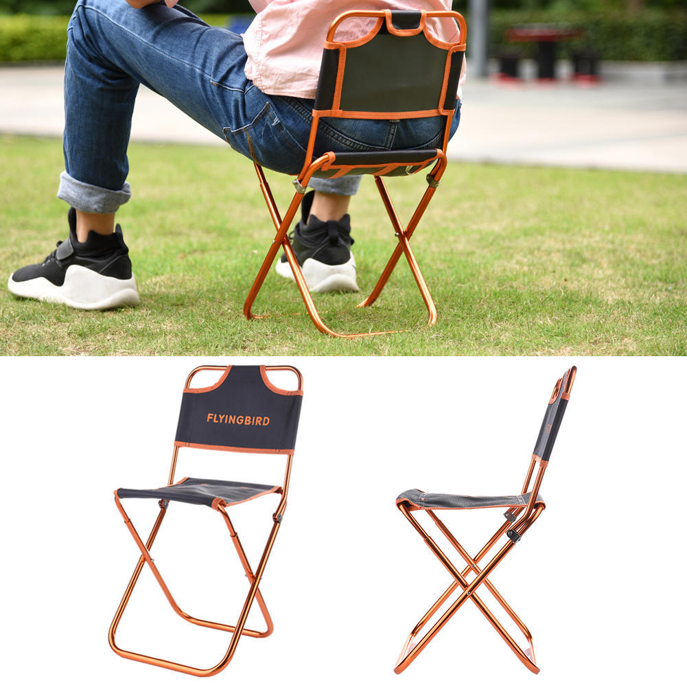 Outdoor Hiking Fishing Folding Stool Portable Triangle Chair Folding Chair DS