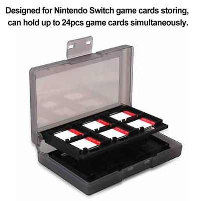 24 In 1 Portable Game Cards Case ABS Shockproof Hard Shell Storage Box For Nintend Switch
