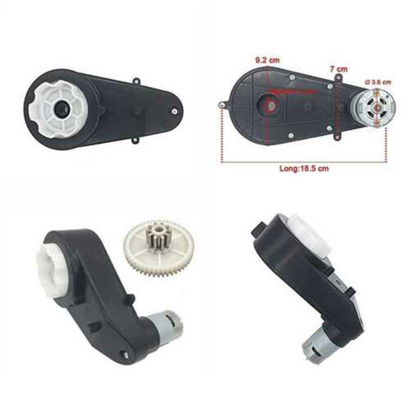 12V 35000RPM Electric Motor Gear Box For Electric Ride On Bike Car Toys
