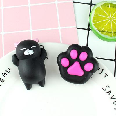 Cat  Paw  Rubber  Toy Elastic Tension Vent Toy Stress Reliever Cute Anime Shape Toy