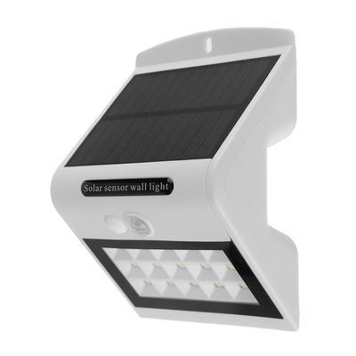 15LED lampe solaire jardin extérieur étanche Yard Motion Sensor mur lumière