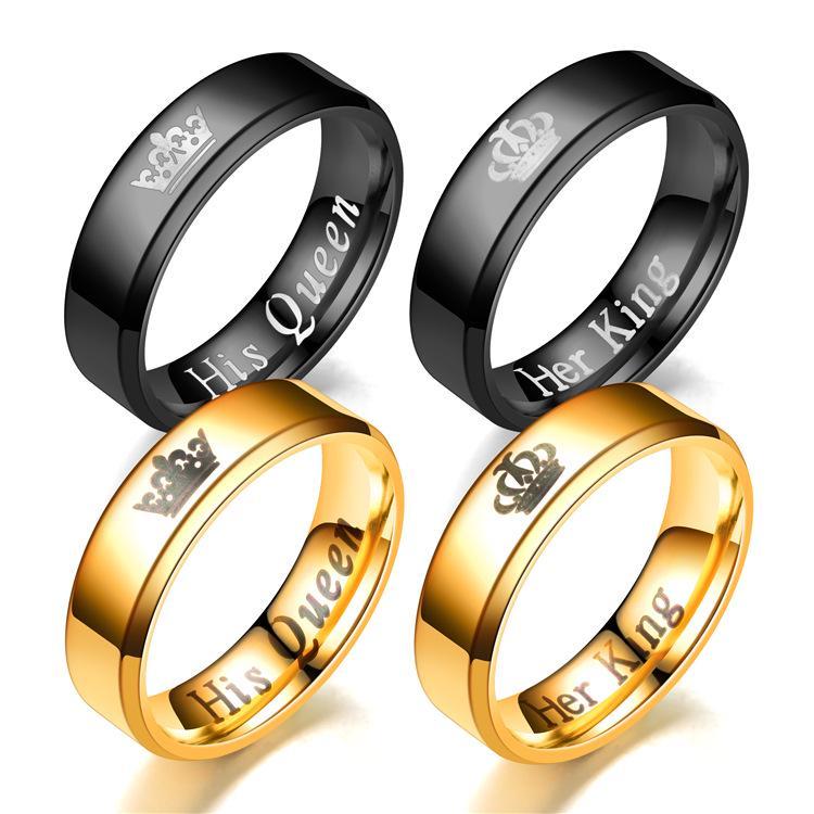 1 Pc New Men Women Stainless Steel Cross Ring Love Promise Pendant Necklace Black