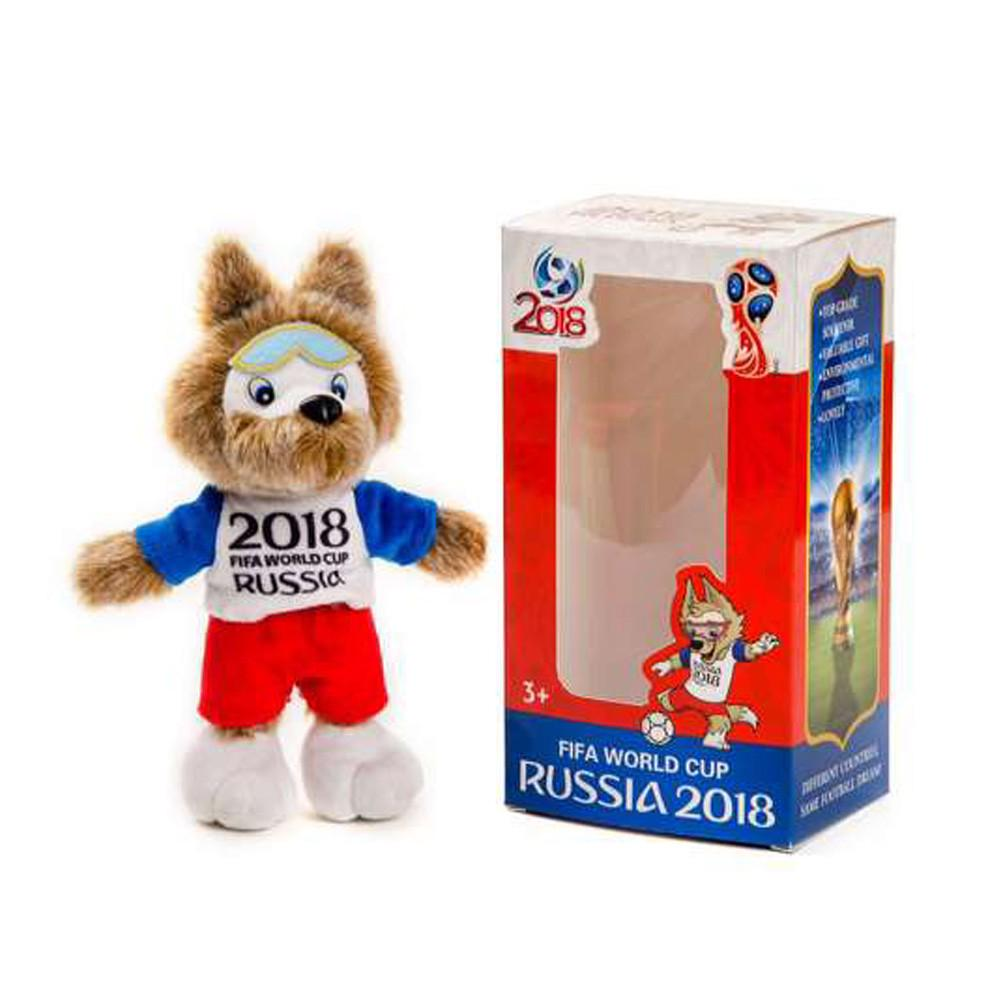 20cm Football Shape Stuffed Doll Mascot Ball Soccer Plush Toy Kids Baby Gift New