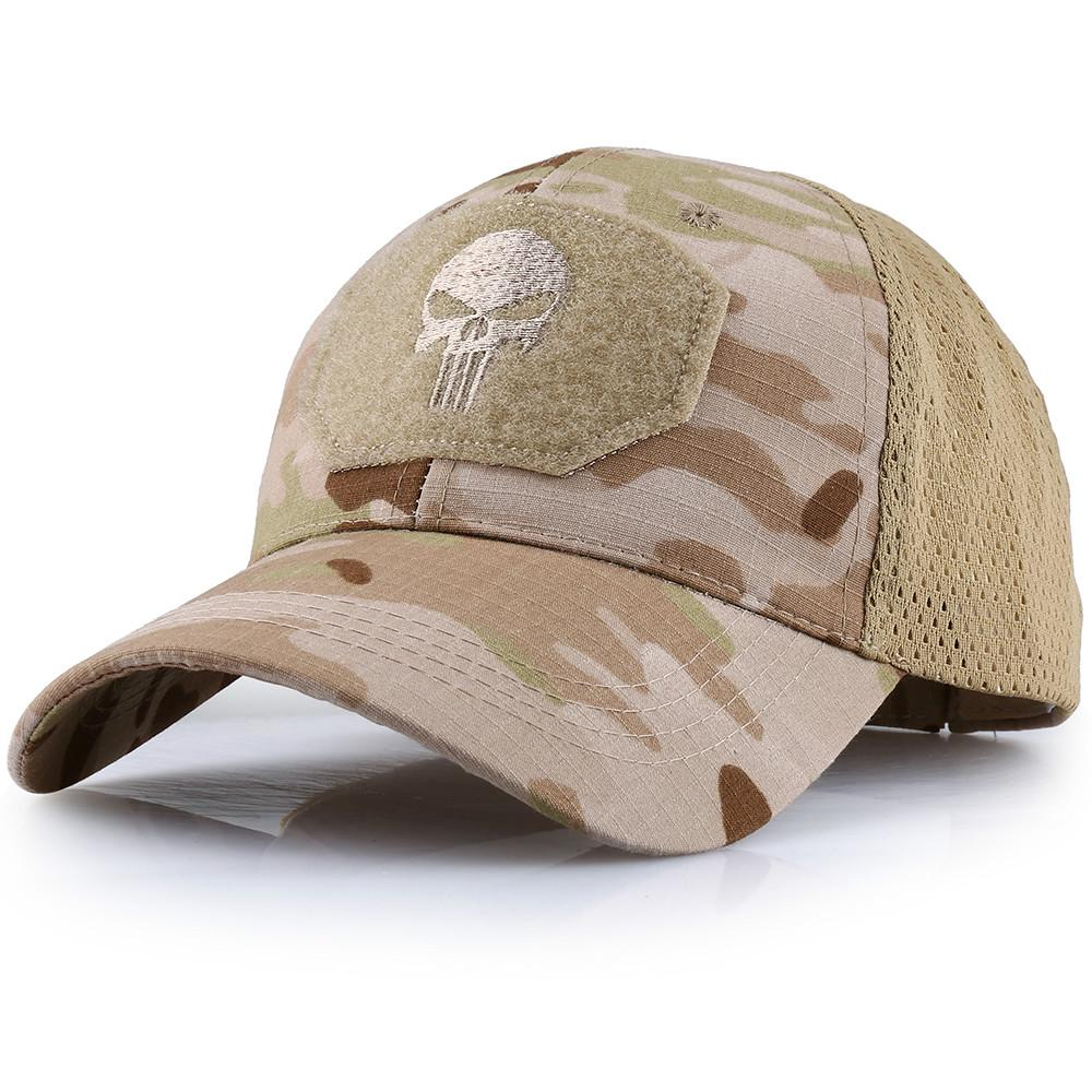 Camo Baseball Caps Summer Breathable Tactical Military Caps Hunting Army Hats