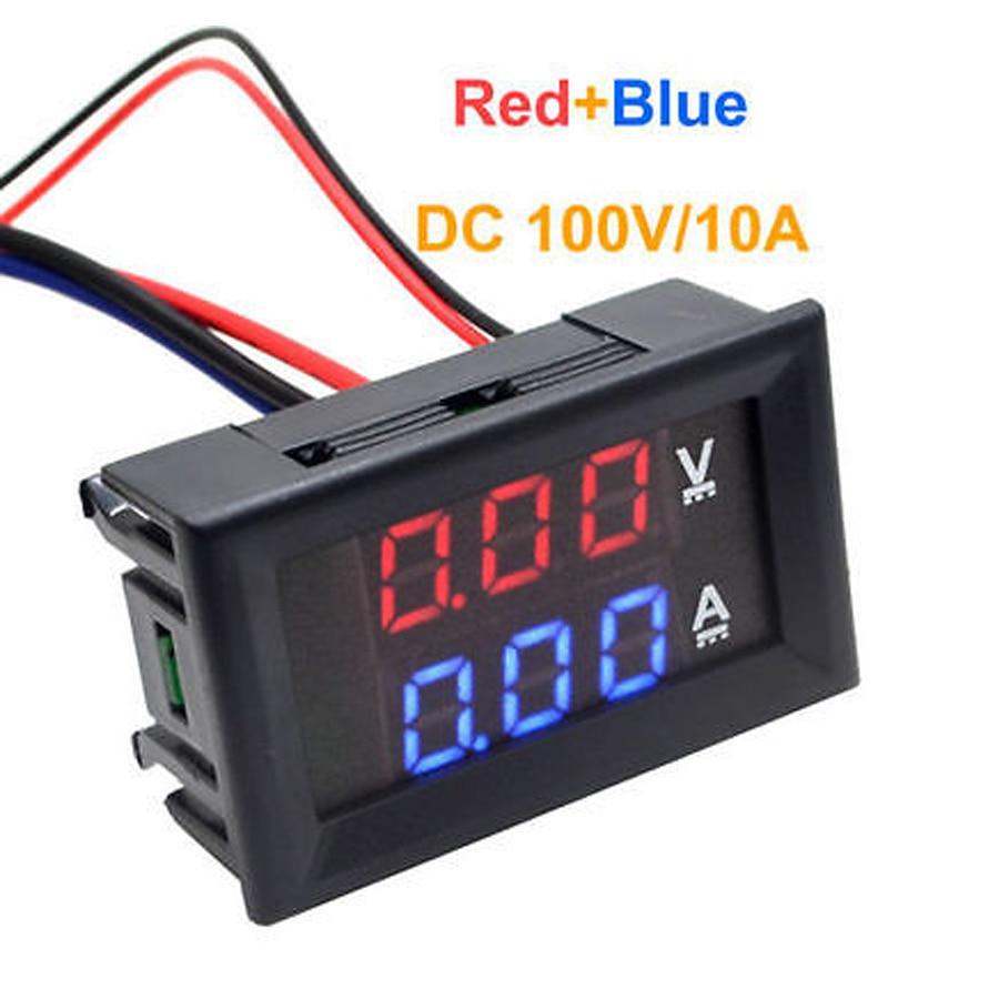 Dsn Vc288 Dc 100v 10a Voltmeter Ammeter Blue Red Led Amp Dual Digital Volt Meter Voltage Current Buy From 3 On Joom E Commerce Platform