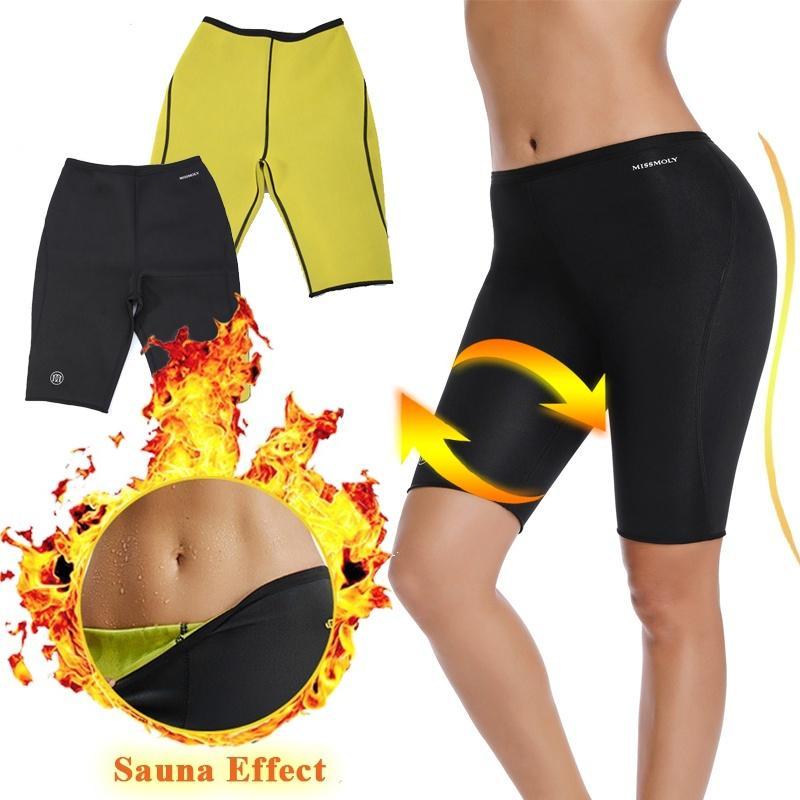 Women Thermo Sweat Neoprene Sport Short Sleeve Yoga Fitness Exercise Top M