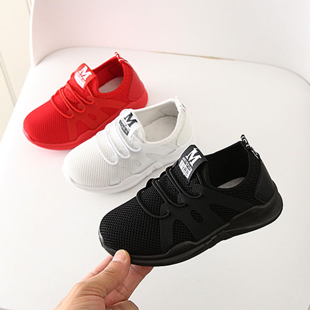 Digood Baby Toddler Infant Kids Breathable Sneakers,0-4 Years Boys Girls Letter Woven Stretch Run Sneakers Sport Shoes Boots