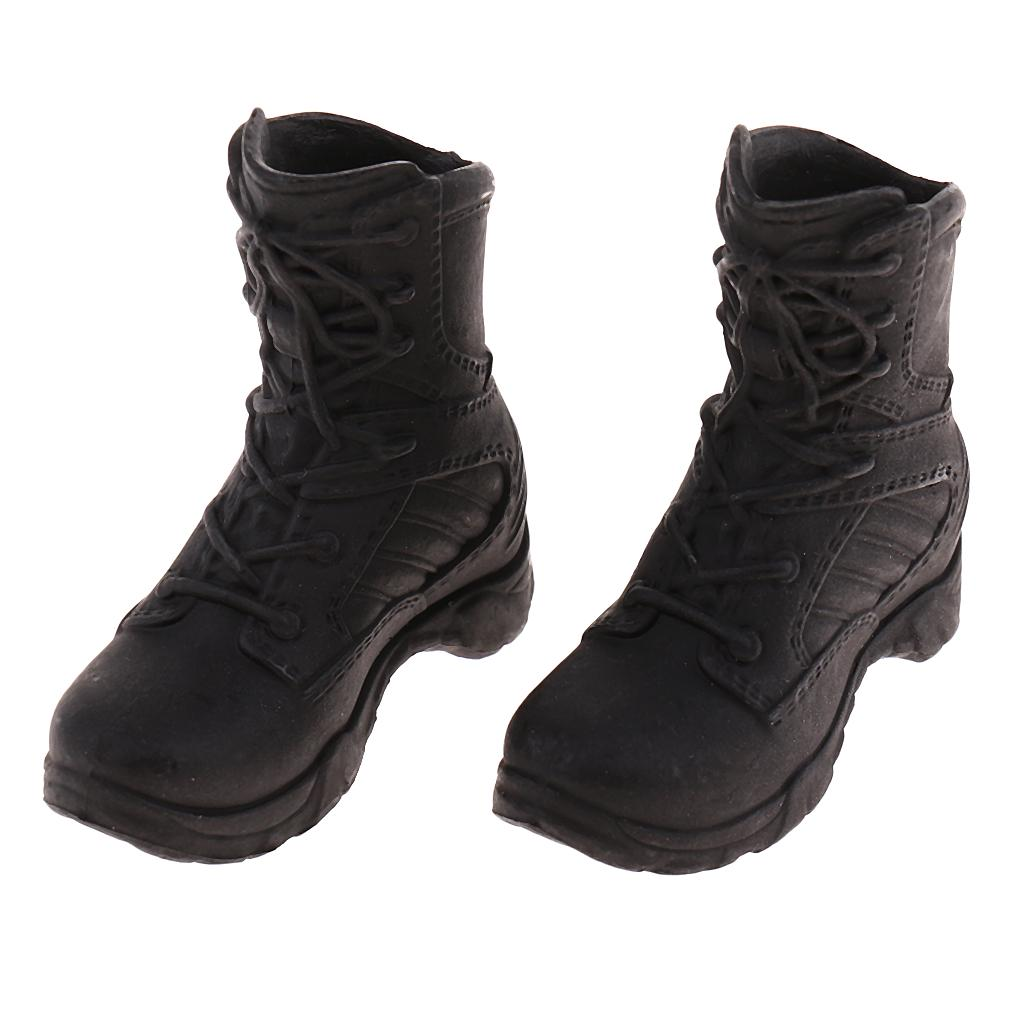 1//6 Scale Tactical Boots Toy Action Figure Furniture Kids Accessory Mini Doll
