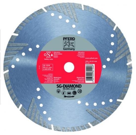 Disco Diamante Ds 230 X 2,4 X 22,23 Psf Pferd