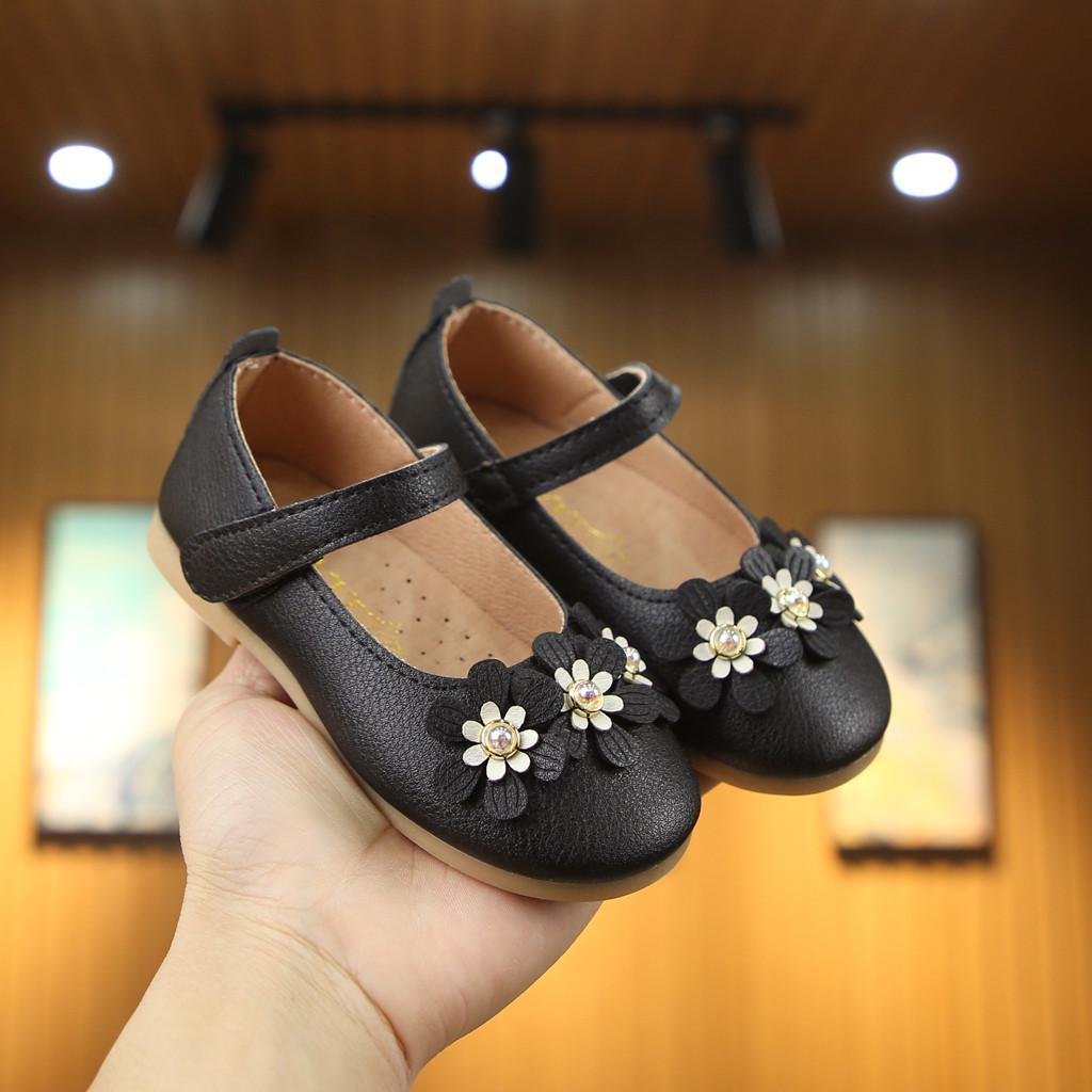 Toddler Little Kids Baby Girls Cute Flower Single Princess Party Shoes Sandals