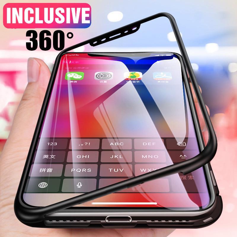 Ultra Тонкий PC 360 Полный Обложка Телефон Дело для Samsung Xiaomi Huawei OPPO Vivo с закаленное стекло