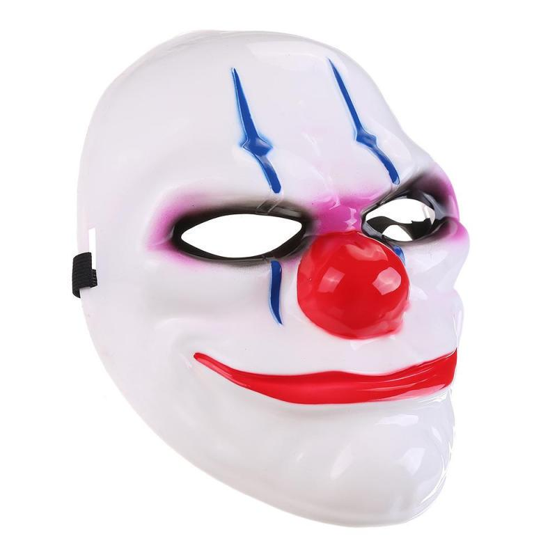PAYDAY 2 The Heist Dallas Mask Joker Costume Cosplay Props Party Halloween Mask