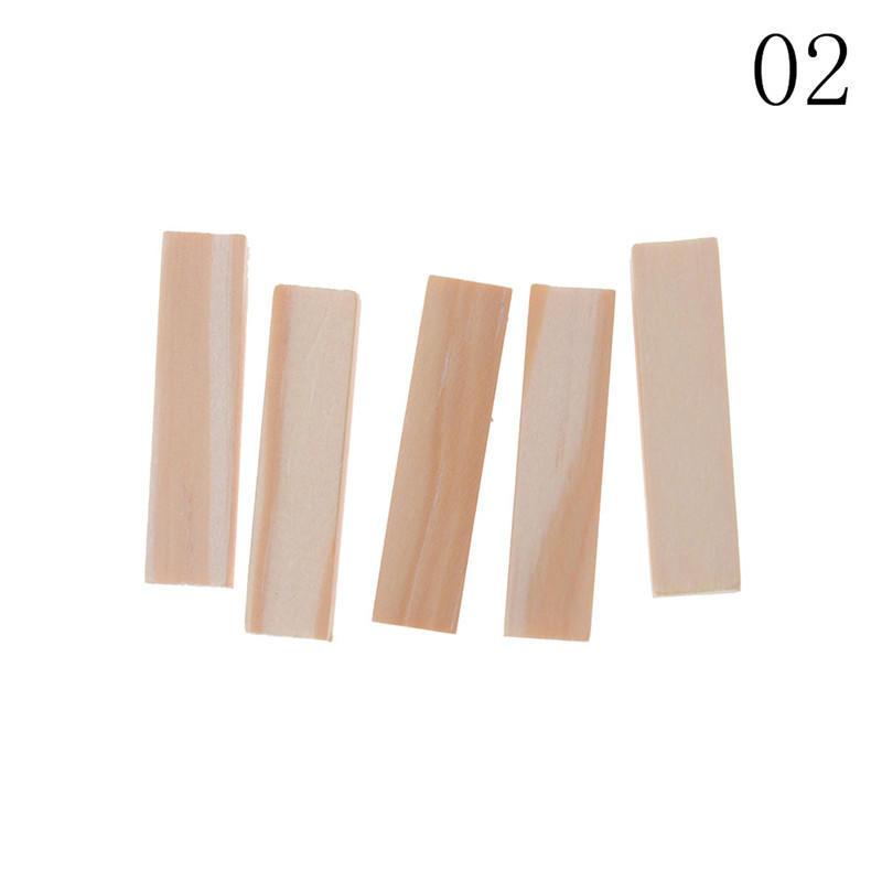 5X//set 1*1cm Balsa Wood Stick DIY Craft Model Wood Building Construction Tool/&#