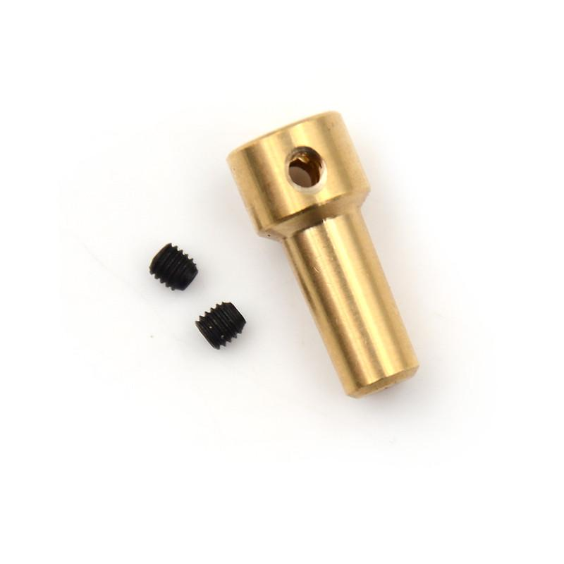1 Set 4-12mm Motor Shaft B10 Drill Clamp Chuck Coupler Connector Sleeve Screw