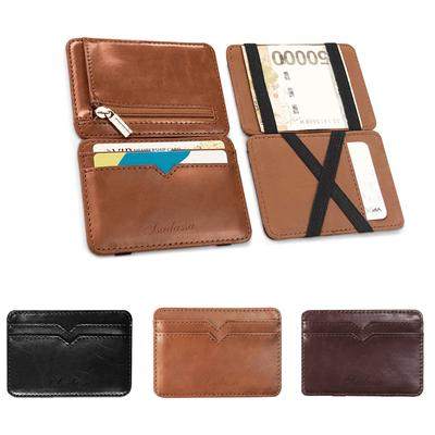 Fashion Mens Bifold Wallet Credit ID Card Holder Slim Coin Purse Card Package J