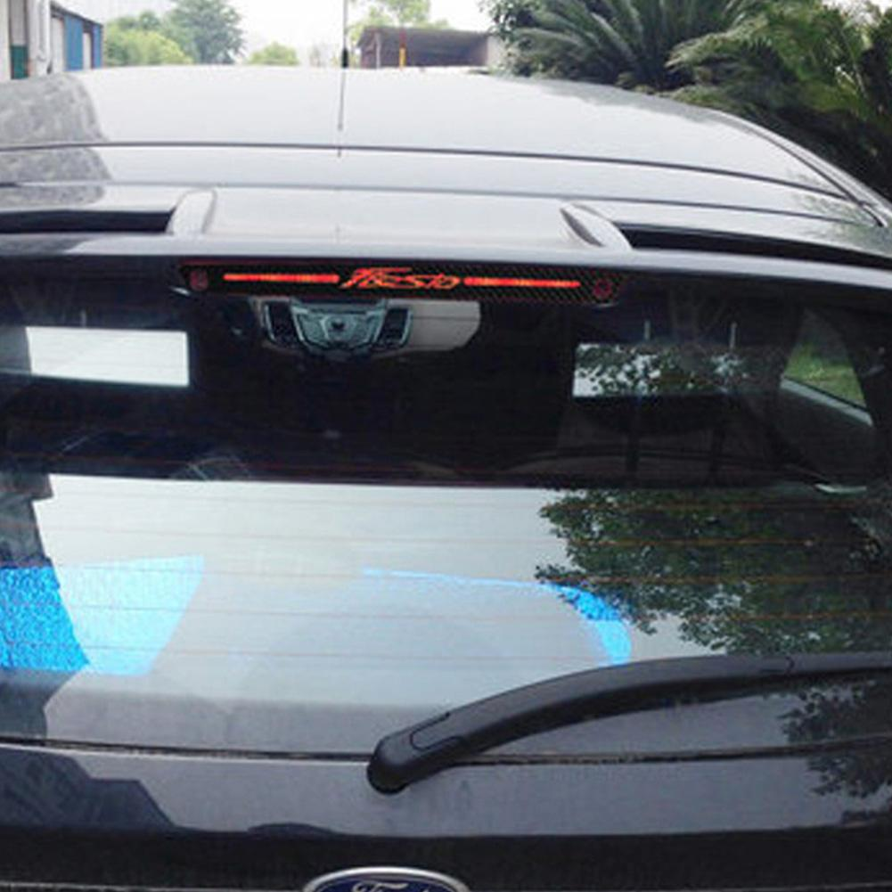 KSTE Auto rechts Passagiere Fenster B-S/äulen-Aufkleber Trim for Ford Fiesta 3 T/ürer Mk6 2001-2008