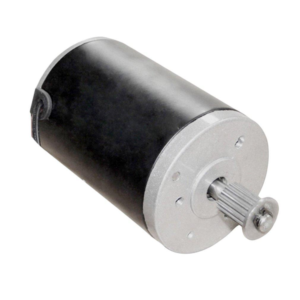 24V 100W High Speed Motor with Sprocket Teeth for Electric Scooter MY6812 Electric Bike Tricycle Electric Scooter Sprocket Motor