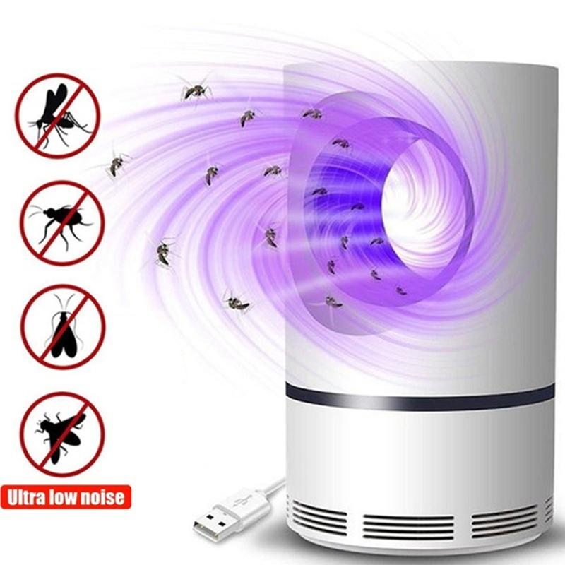 Electric Mosquito Insect Killer Lamp Led Fly Trap Bug Insect Killer Trap Zapper