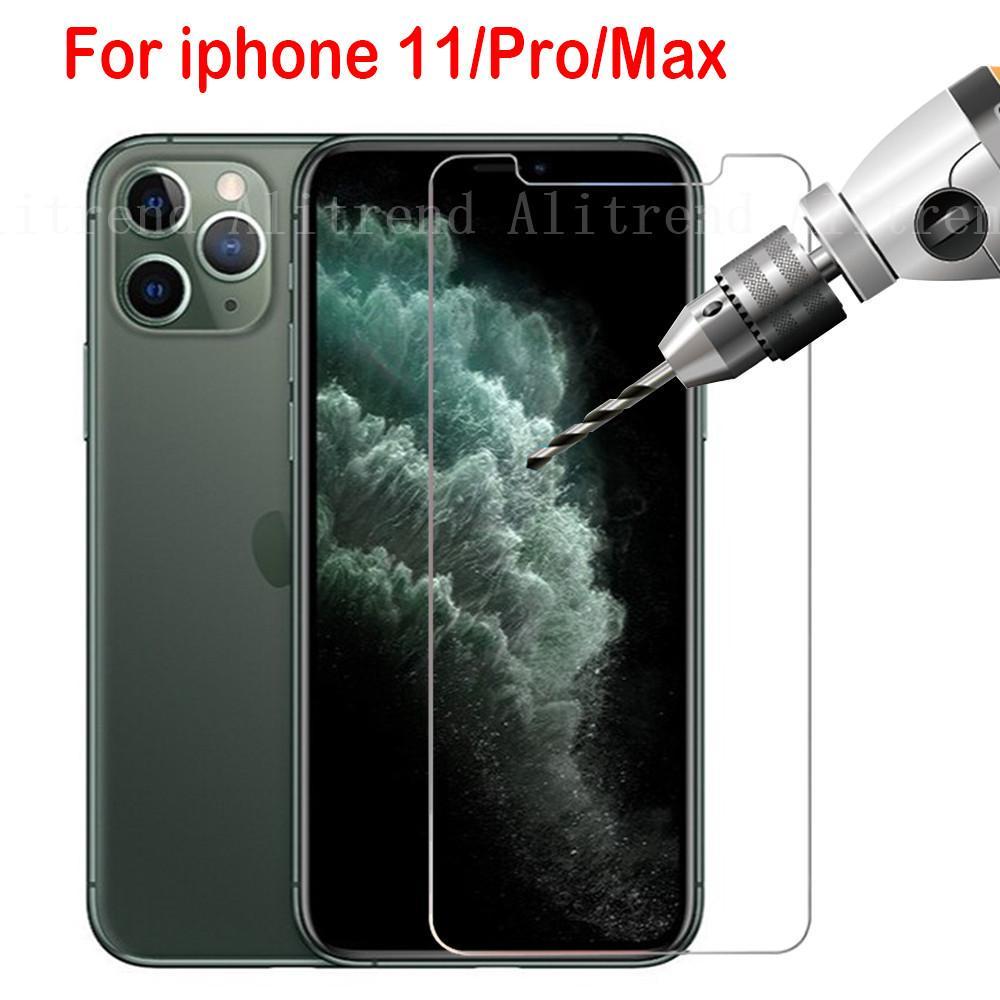 Защитное стекло на Iphone XS 11 Pro Max XR 7 8 Plus Screen Protector 5s Protection Tempered Glas фото