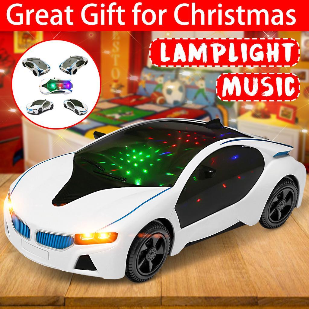 Sound Car toy Electric Kids Plastic Gift Xmas Boys Sing