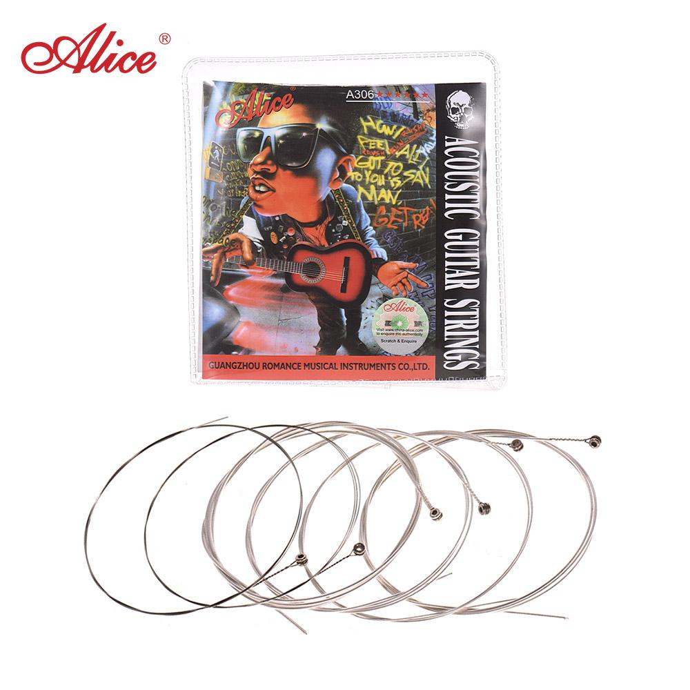 Alice Electric Guitar Strings Super Light 009-042 with Nickel Alloy Winding Bass Guitar Strings