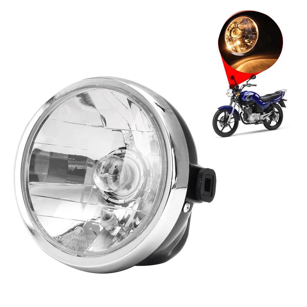 Black Motorcycle Fog LED Lights Lamps ATV Bullet 12V LED Lamp Universal 2Pcs