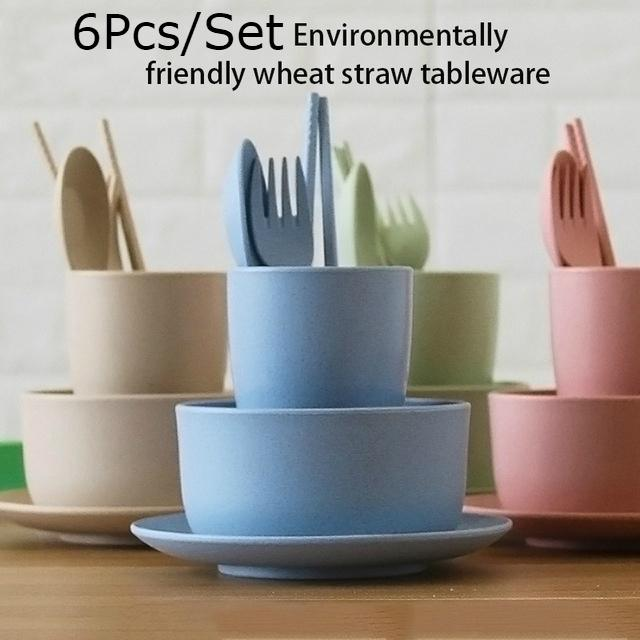 Tableware Food Supplement Training Bowl Baby Plates Pink//Green Food Container