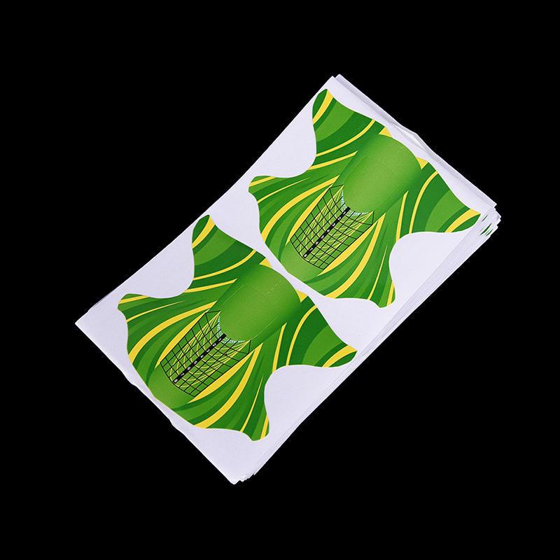 Formas de uñas 100pcs estilete mariposa pegatina herramientas de uñas forma de arte de uñas