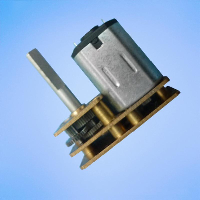 N20 Gear Box Reduction Motor Long Output Shaft M4 x 100mm 30~600RPM DC 6V//12V UK