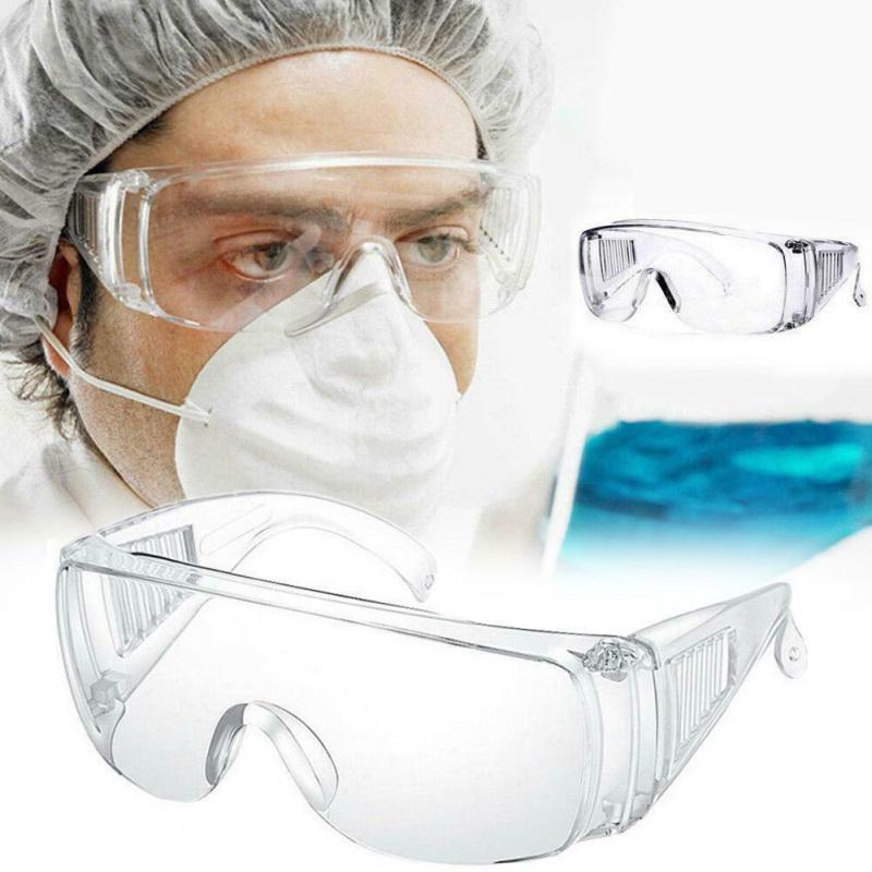 Safety Goggles Eye Protection Anti-virus Glasses Unisex Clear Vented