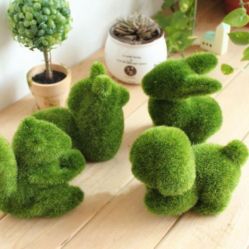 Искyсственные растения в виде животных для декора дома или офса фото