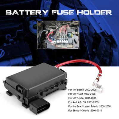 jetta battery fuse box car battery fuse box holder terminal for jetta golf mk4 beetle 99  car battery fuse box holder terminal