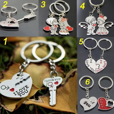 Love Valentine/'s Day Mothers Gift To Me You Are The World Silver Heart Keyring