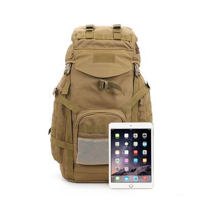 Mens and Womens Tactical Backpack Canvas Bag Backpack Barrels Pack Travel Bag Large Size