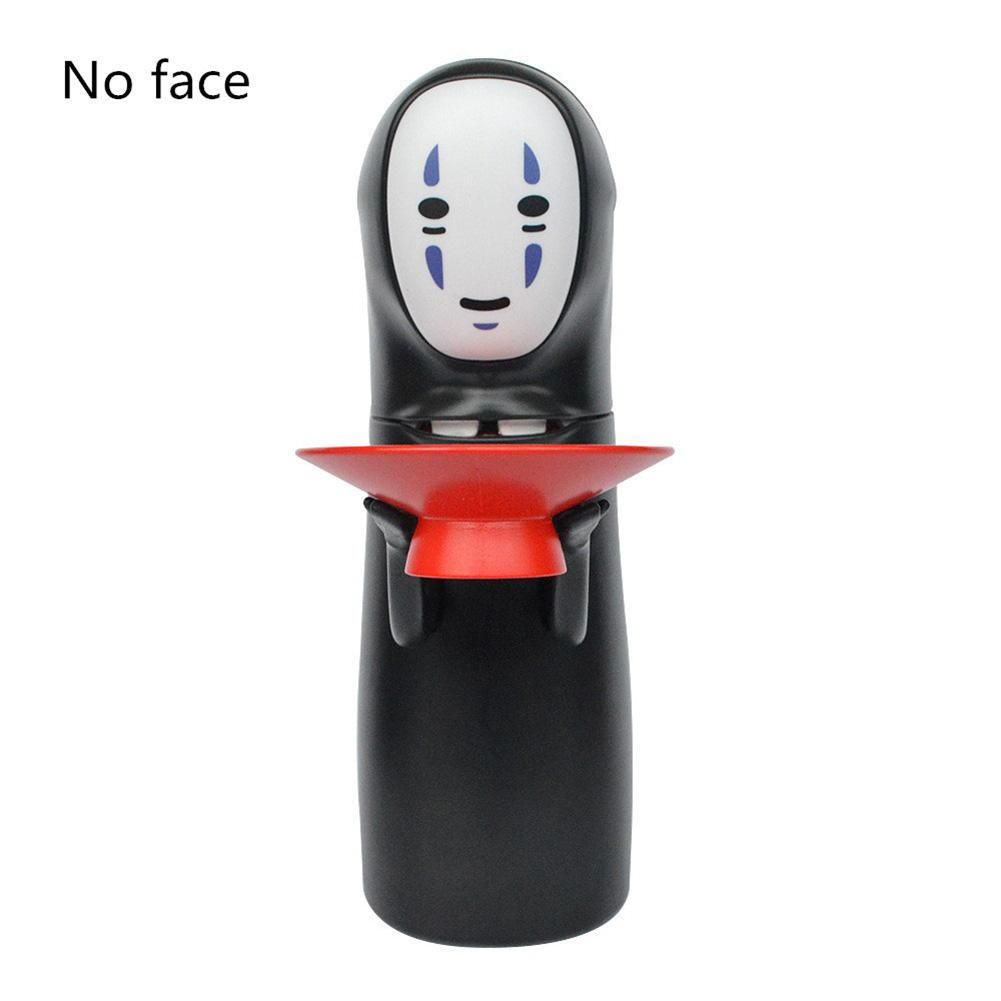 Coin Bank Spirited Away Figure Toy No-Face Man Kaonashi Music Piggy Bank