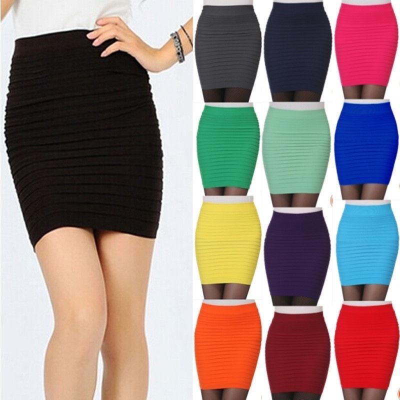 Дамы сексуальные мини тонкий стрейч плотный короткие установлены юбка фото