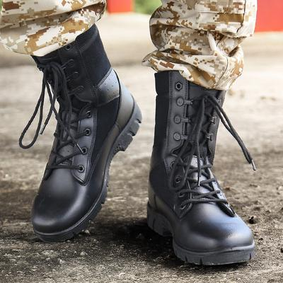 High-top Military Boots Men's Non-slip