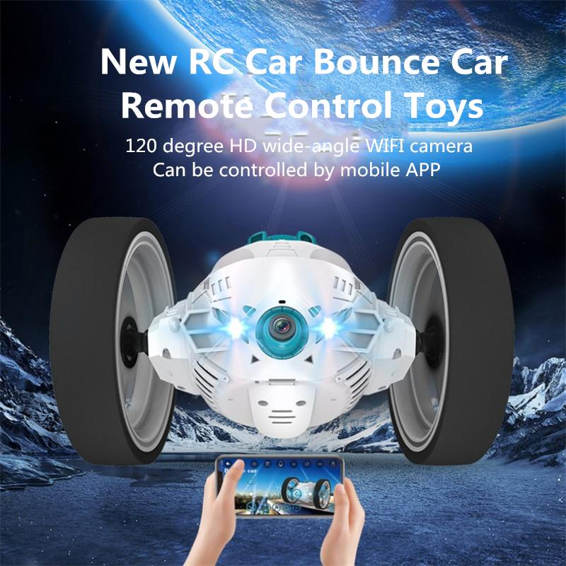 Rc Car Bounce Car Remote Control Toys Rc Robot 50cm High Jumping Car Radio Controlled Cars Machine Buy At A Low Prices On Joom E Commerce Platform