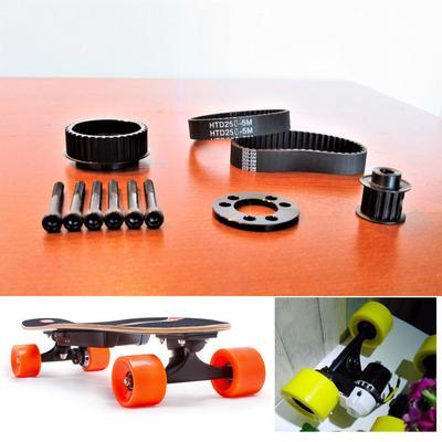 Wireless Electric Skateboard Flywheel Belt Motor Pulley For 72//70MM Wheels
