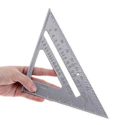 Réglable Combinaison Jauge Square Angle métrique Règle école Papeterie