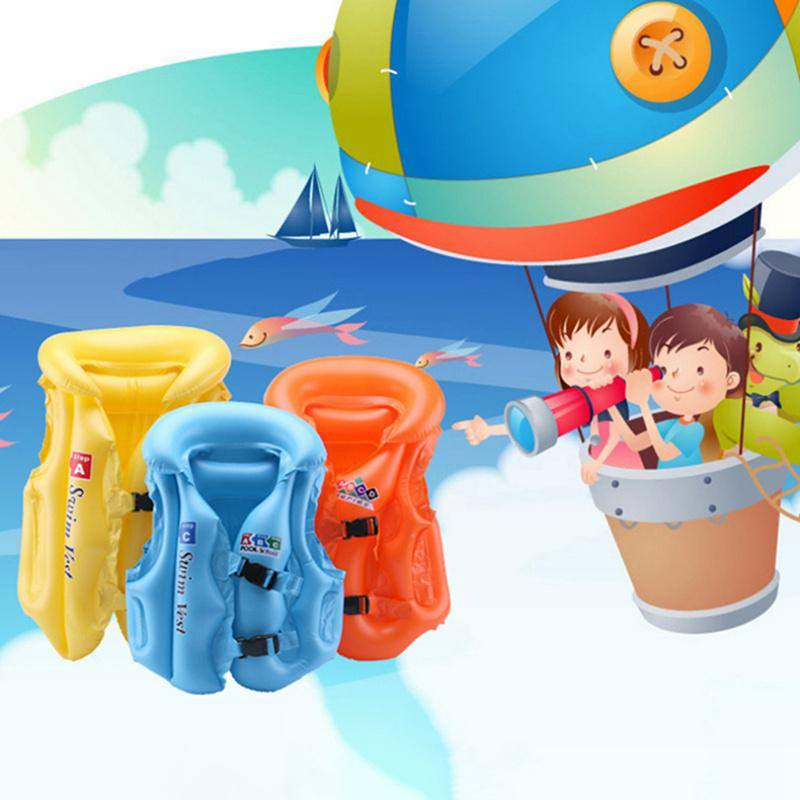 Cartoon Cute Swimming Vest Childrens Swimming aids