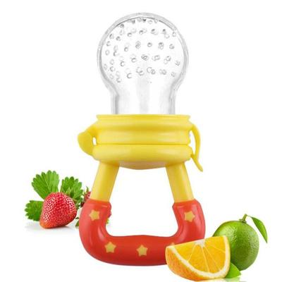 1PC Cute Child Silicone Food Feeder On The Environmentally Friendly Safe Baby Bite Supplies