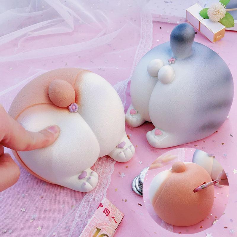 Мягкое пердящее собачье яйцо, фиксированная копилка для кошек, милый мягкий пластик, большая емкость, копилка, бутик, подарок – купить по низким ценам в интернет-магазине Joom