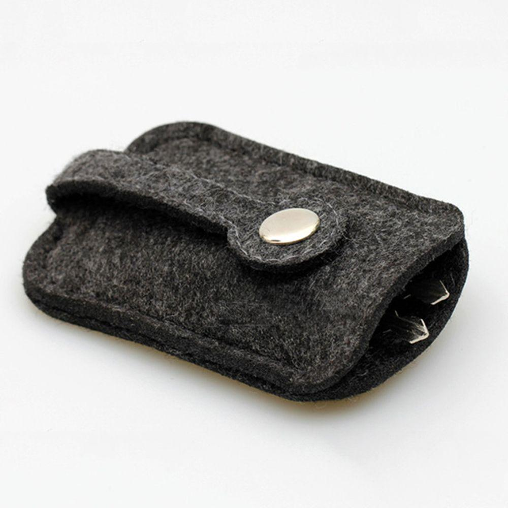 10 Color Womens Mens Real Leather Universal Key Fob Holder Case For Car Auto SUV