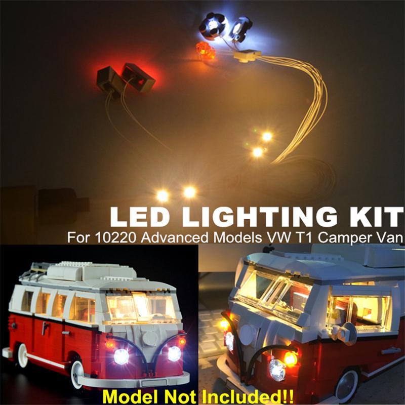 Led Light Kit Only For Lego 10220 The Volkswagen T1 Camper Van Lighting Bricks